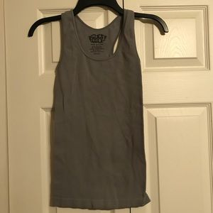 LIPSTICK Women's OSFM Tank Top Gray